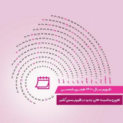 تعیین مناسبتهای جدید جهت درج در تقویم رسمی کشور